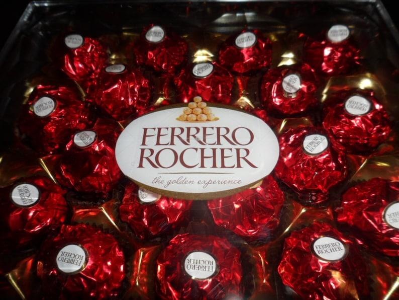 Rojo Ferrero Rocher 300g 1 caja de 24  ea439f58cf0