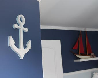 Anchor in low relief 3D