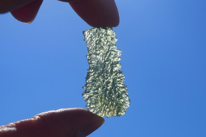 Star Lineage MOLDAVITE™ ~ Powerful, Rare, Pleiadian, Andromedan, Arcturian,  Orion, Lyran Pineal Gland ACTIVATION perfect for Starseeds