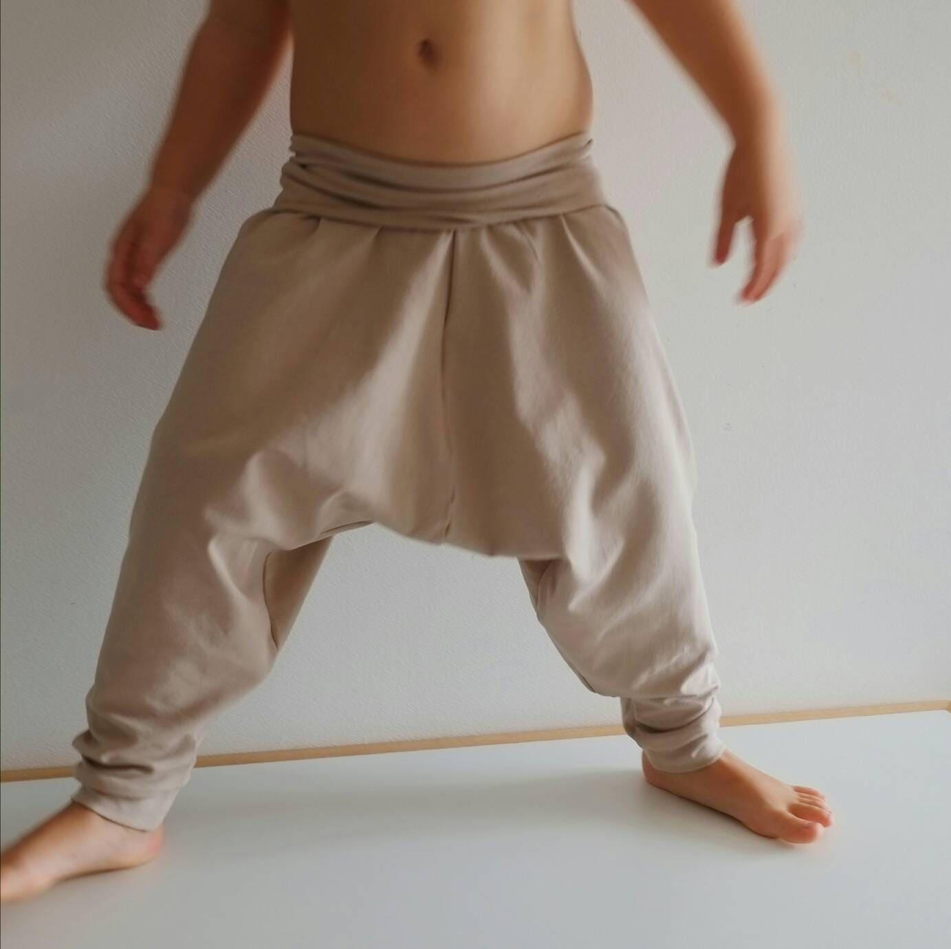 26d3c84cbc4547 Organic Harem Pants Baby Harem Leggings Organic Baby   Etsy