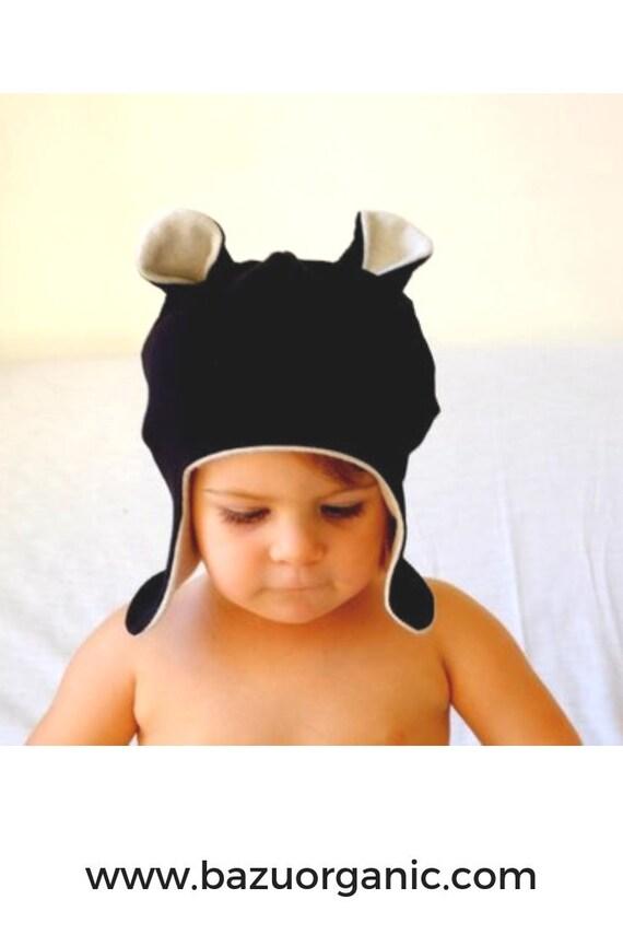 Bear Winter Hat Organic Winter Hat Winter Baby Bonnet  48022dedde6b