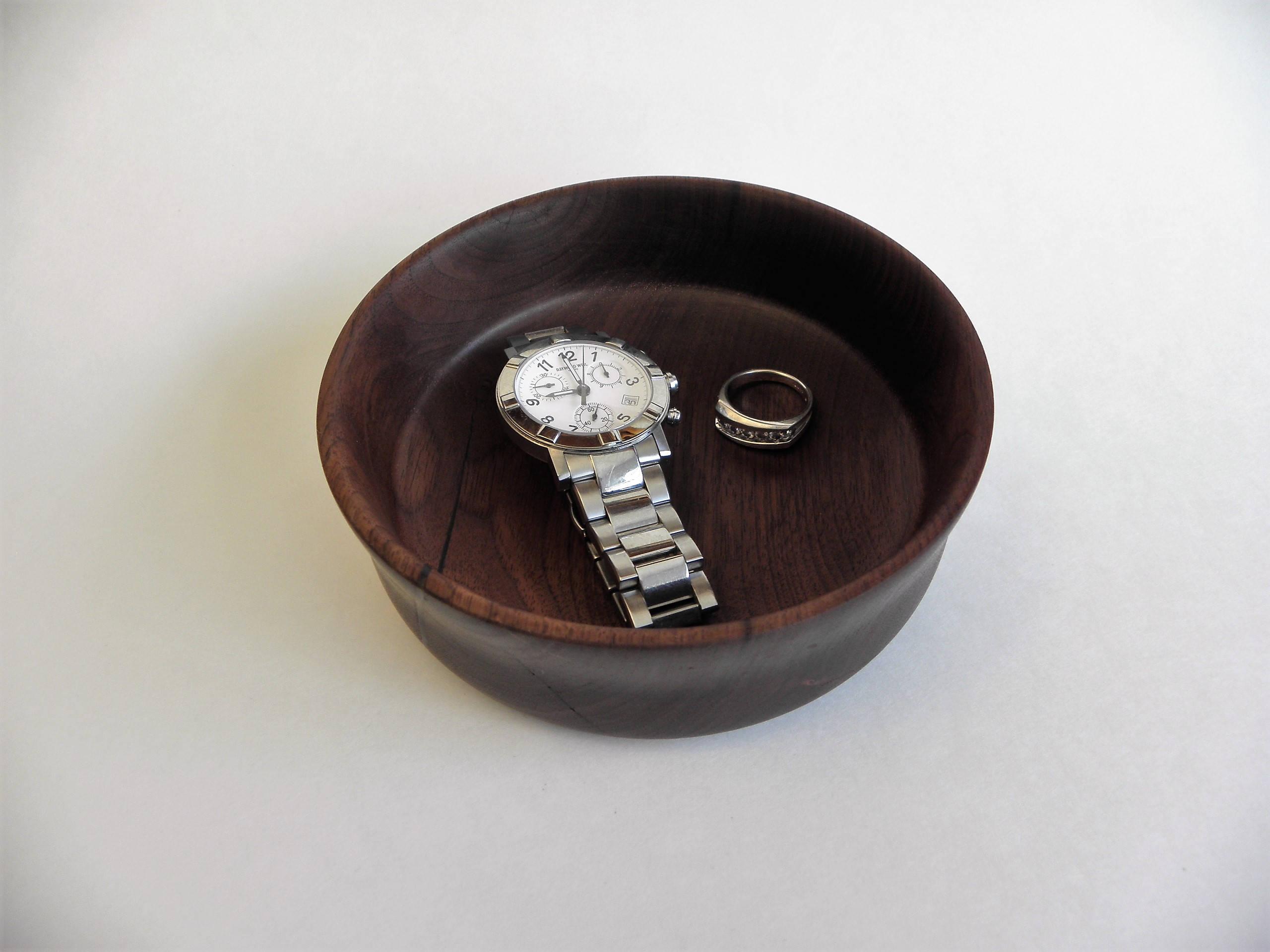 Black Walnut Ring Or Potpourri Dish Etsy