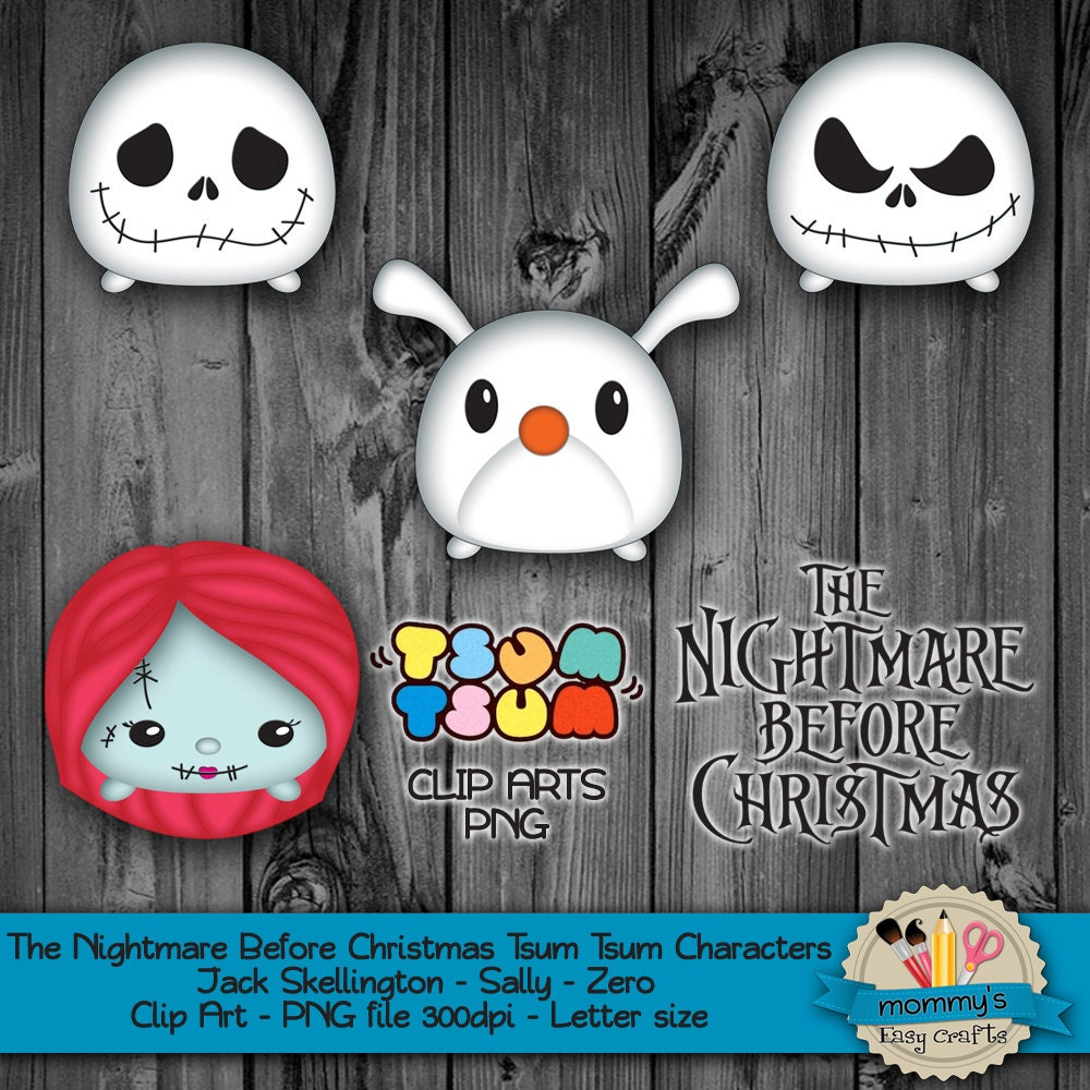 DIGITAL DOWNLOAD The Nightmare Before Christmas Tsum Tsum