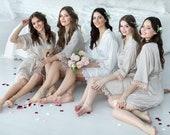 Bridesmaid Robes, Bridesmaid Gifts, Getting Ready Robes, Customized Bridesmaid Gift, Bridal Robes, Bridal Party Robes, Bridesmaid Proposal