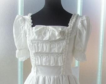 White cotton Lolita dress