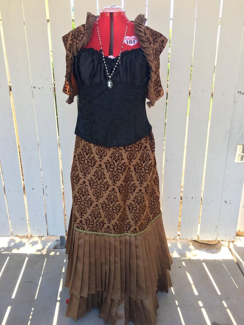 6625e3189a Steampunk Costume 2 Victorian Costume Bustle Costume