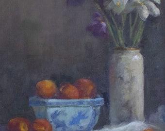 Iris and Tangerines.