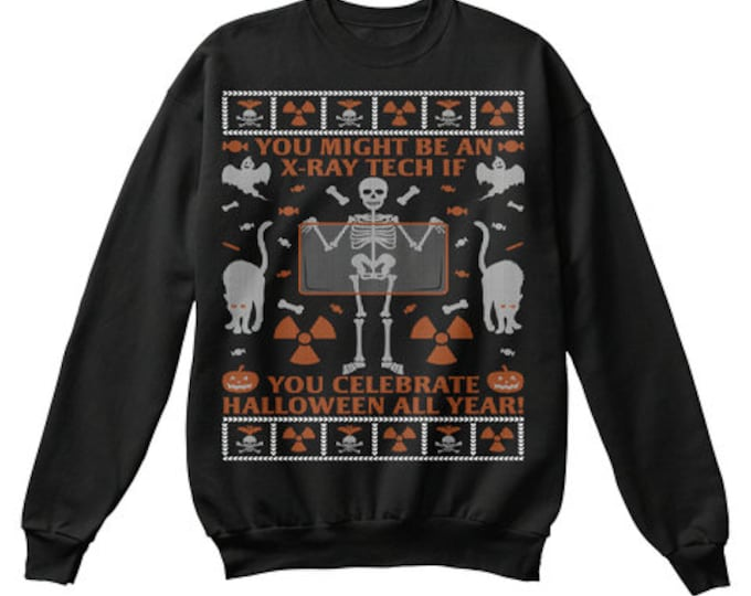 Radiology ugly ChristMAS sweater (READ DESCRIPTION)