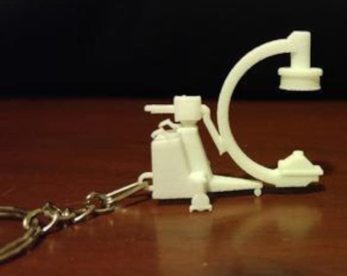 Radiology C-ARM 3D printed keychain