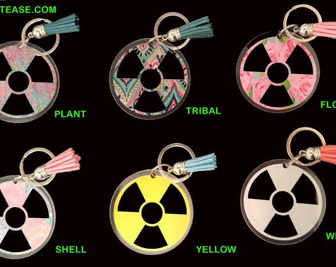 Radiology logo Christmas ornament or Keychain - Lilly patterns!