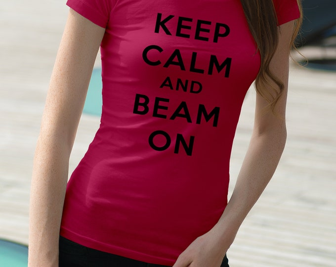 """Radiation Therapy """"Keep Calm and Beam On"""""""