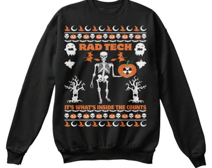 """Ugly """"Xray inside that counts"""" sweater (READ DESCRIPTION)"""