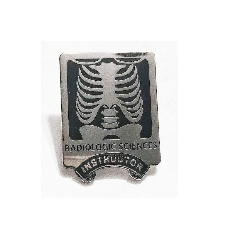 Radiology Gift Xray tech teacher pin
