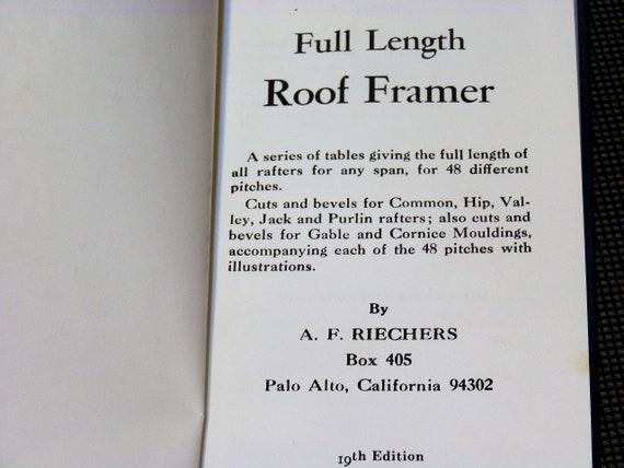 Full Length Roof Framer