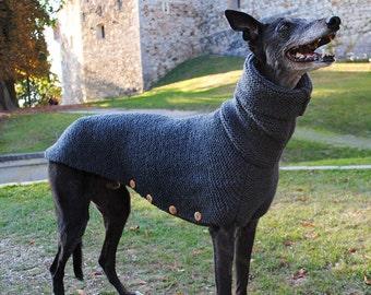 Thick Handmade Dog Sweater - Iron