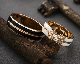 Unique Wedding Ring.Unique Wedding Bands Etsy