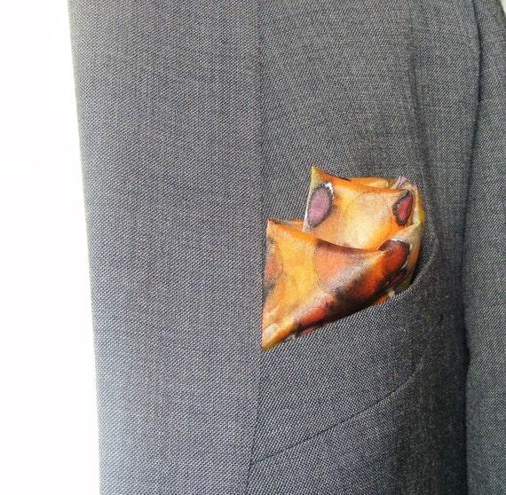 image 0  sc 1 st  Etsy & Silk Pocket Square/Wrist Wrap/Watch Strap/Tent Marker/Handbag   Etsy