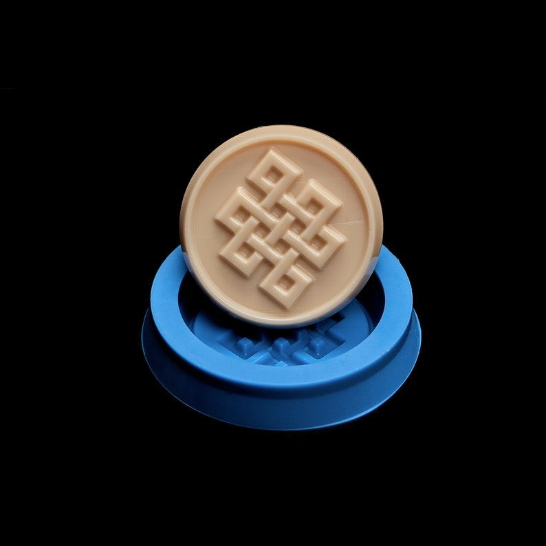 50mm Infinity Knot Orgonite and Soap making Silicone Mold for Resinart