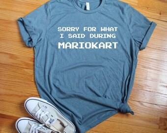 437b26212 Funny nintendo inspired graphic tee, mariokart and chill tee shirt, funny  mario shirt, classic nintendo, mariokart shirt, funny mariokart