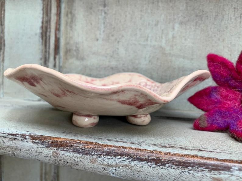 Ceramic dish platter bowl trinket handmade