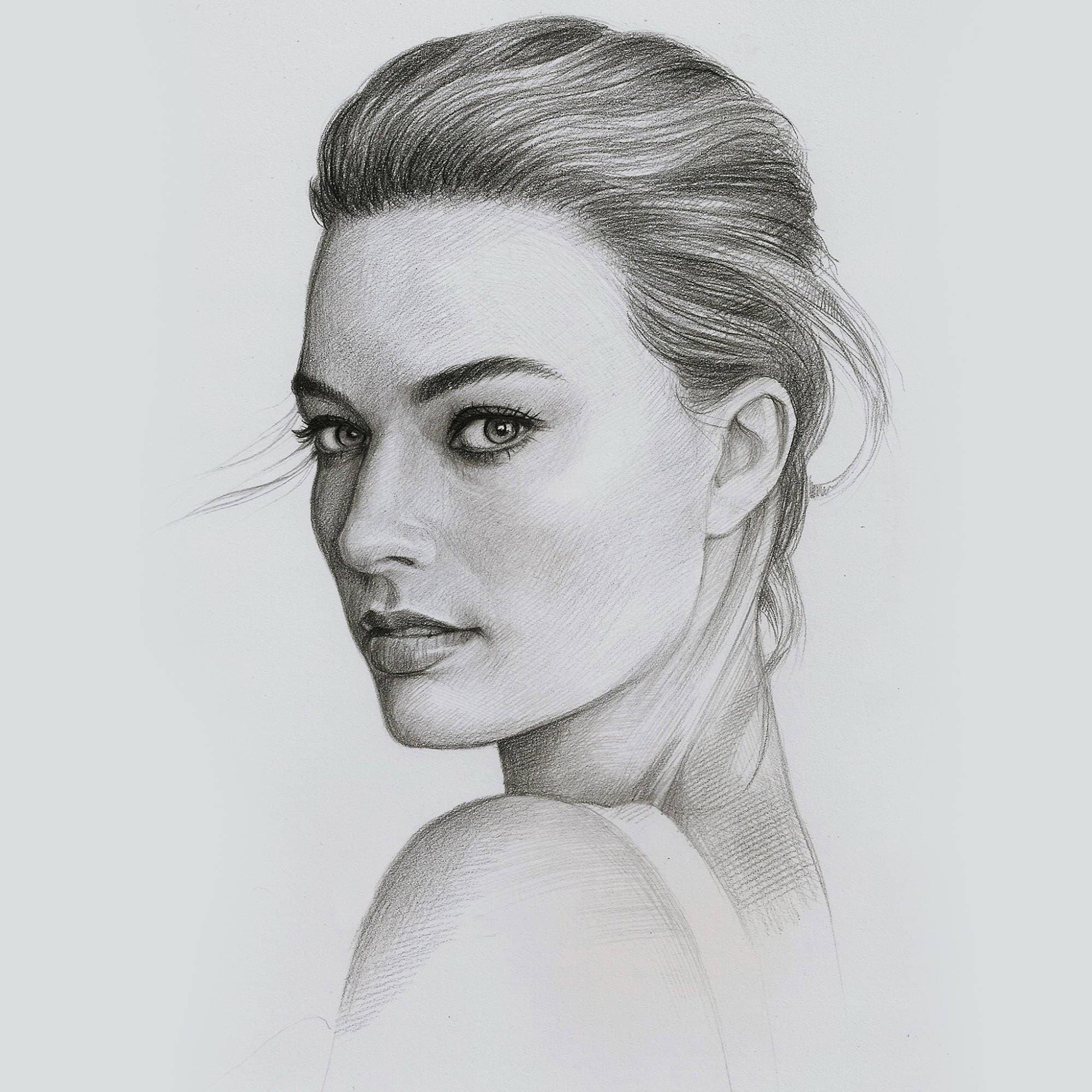 Custom Pencil Portraits Hand Drawn Portraits Custom Pencil ...