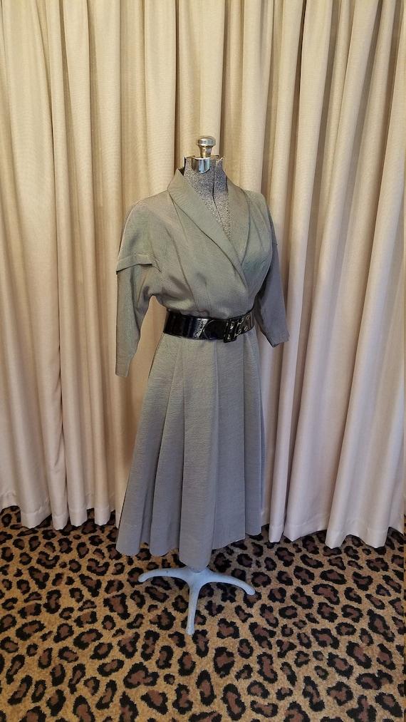 Vintage, 1940s, 1950s, Martin Berens, Coat, Dress,