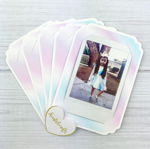 Unicorn Party Favors For Your Instax Films Instant Photo Mini Etsy