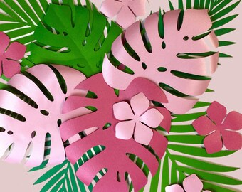 tropical theme party etsy