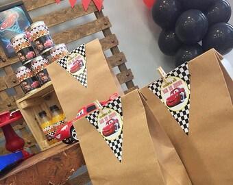 12 tags for treats bags. Etiquetas para dulceros o bolsas personalizadas