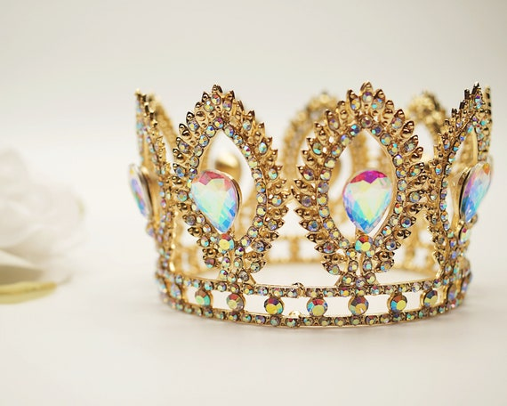 Rhinestone princess small tiara crown mini princess tiara Mini Crystal Tiara Mini Queen Tiara Doll Tiara Mis 15 doll tiara #4687