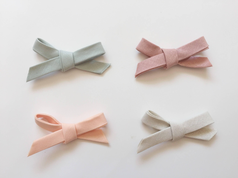 Fabric Bow Headband Baby Nylon Headband Toddler Bow
