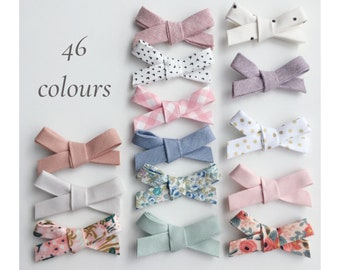 Hair clip bows/ Baby bows on headbands/ Hair bow clips/ Toddler hair accessories/ Floral bows/ Nylon headband bows/ Girls' Hair Clips
