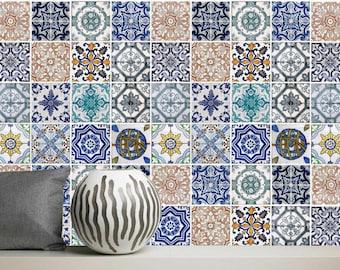 Portugese Tegels Vinyl : Vinyl tegels portugees de fijn marokkaanse tegels badkamer