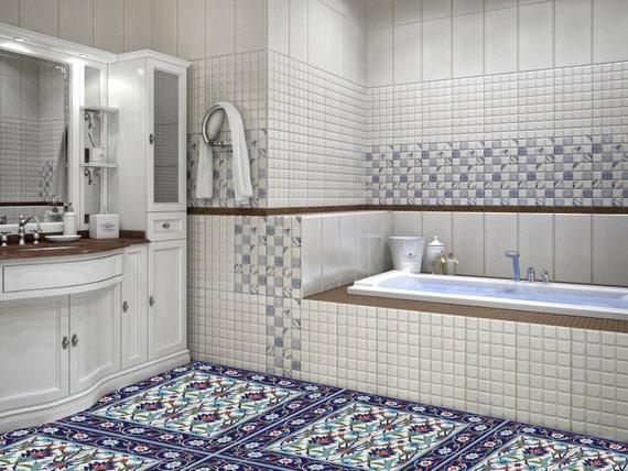 Laminato in vinile adesivi azulejos turco portoghese etsy