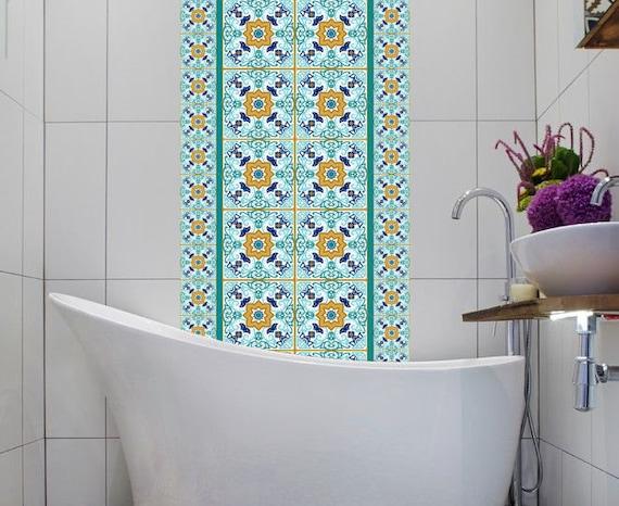 Vinile adesivi messicano marocco lisbona piastrelle set etsy