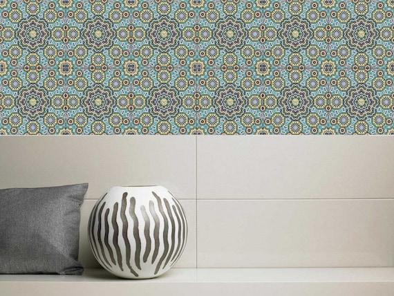 Laminato in vinile adesivi mattonelle di mosaico in stile etsy