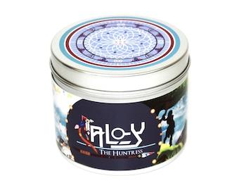 Horizon Zero Dawn - Aloy scented candle - Horizon Zero dawn - Aloy  Gaming candle - geeky candles - gaming gift - gamer girl - geeky gifts