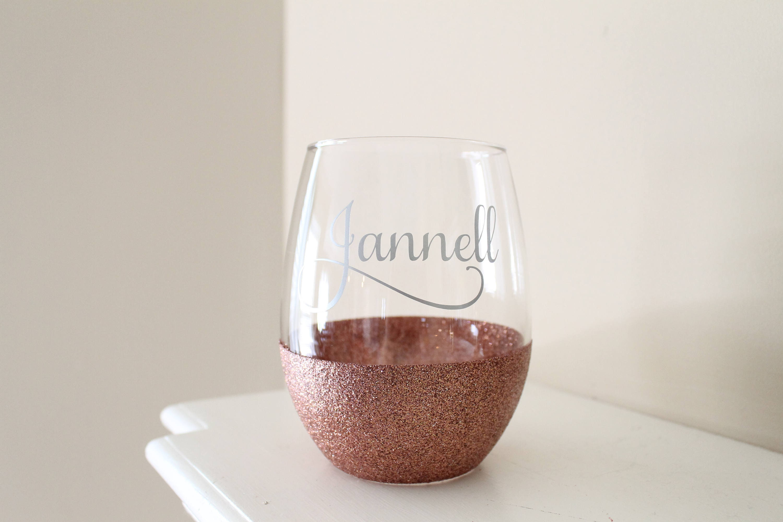 Turkey Stemless Wine Glass Personalized Gift Design 2 Free Personalization