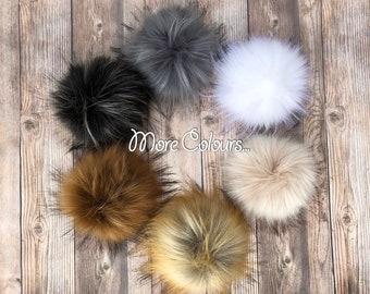 51a1a5596b0 Faux Fur Pom Pom
