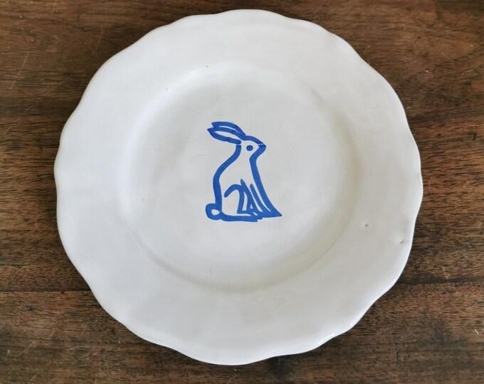 ceramic handmade plate