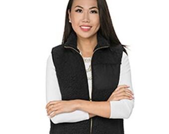 Monogram Sherpa Vest