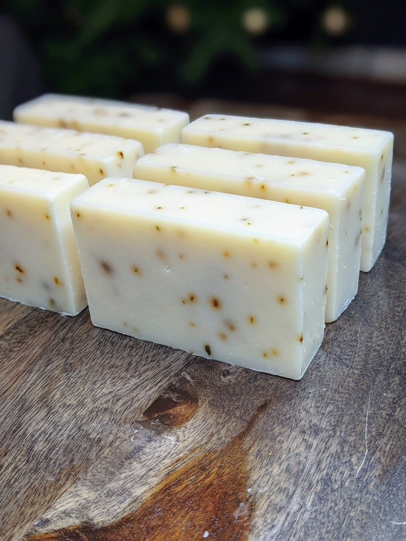 Peppermint Soap  Shea Butter Soap  Handmade Soap  Cold image 0