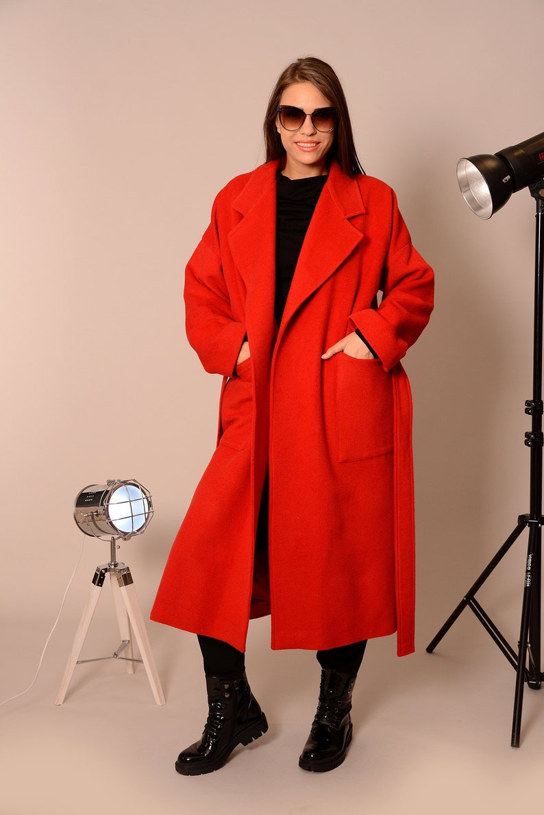 205de795be9 Wool Coat Coats Women Plus Size Coat Winter Coat Oversized