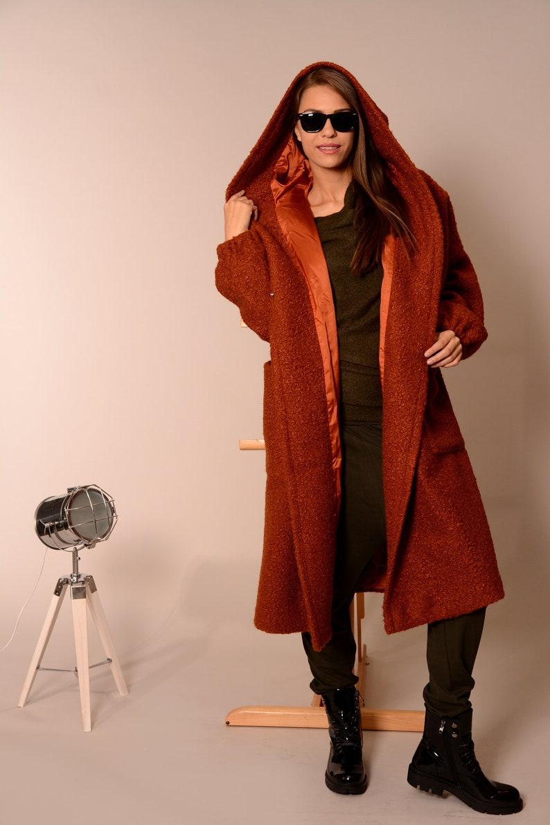 59eb55eeadcb6 Wool Coat Coats Women Plus Size Coat Winter Coat Oversized | Etsy