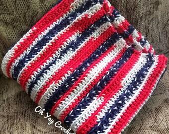 Liberty Crocheted Blanket
