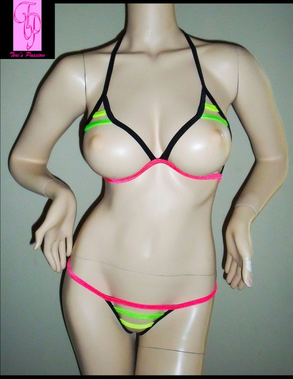 Sexy Harness Sexy Gift Harness Lingerie UV Reactive  9236e6a81