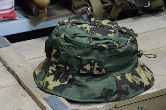 298cce95c7650 Russian Boonie Hat M45 Scout Partizan SS Camo