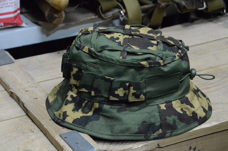 d3d198603abcb Russian Boonie Hat M45 Scout Partizan SS Camo