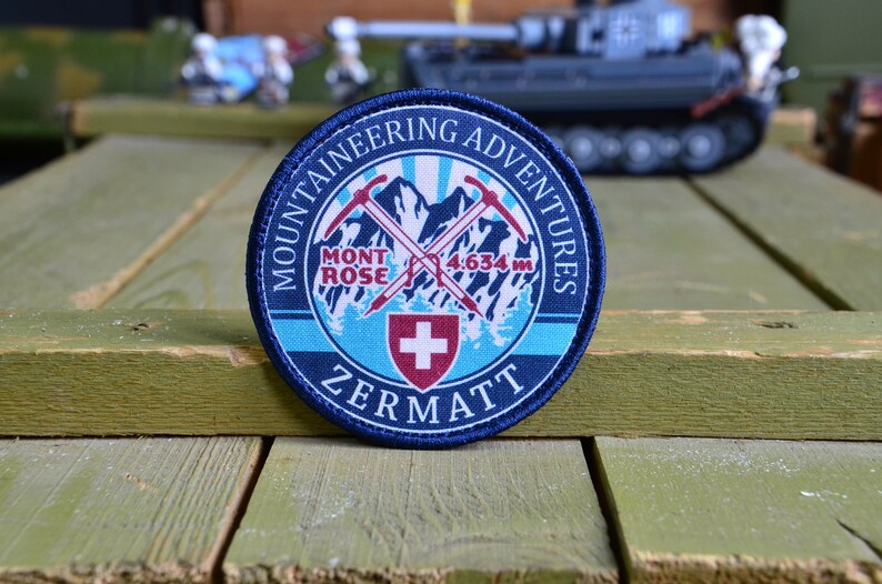 Zermatt Mont Rose 4634 Embroidered Patch Tactical morale patch