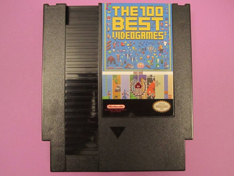 143 in 1 NES Super Games Nintendo Cartridge  100 Best Video image 0